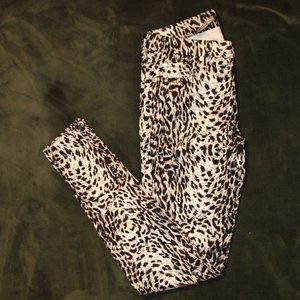 7 For All Mankind Animal Print Cheetah Jeans